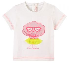 T-SHIRT BILLIEBLUSH CON BRILLANTINI