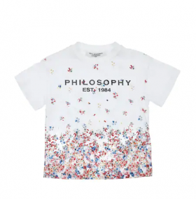 T-SHIRT PHILOSOPHY CON LOGO