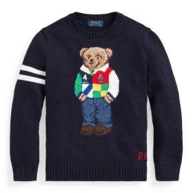 MAGLIONE BIMBO CON POLO BEAR