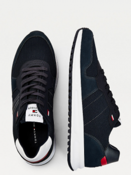 SNEAKERS IN CAMOSCIO TOMMY HILFIGER