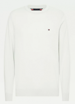 PULLOVER TOMMY HILFIGER IN MISTO COTONE