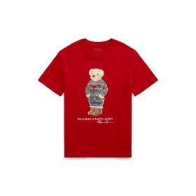 T-SHIRT BAMBINO CON POLO BEAR