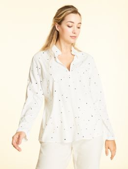 CAMICIA VISCOSA STRETCH