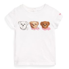 T-SHIRT TEDDY CON STAMPA