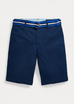 SHORT CHINO CON CINTURA SLIM-FIT