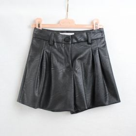VICOLO GIRL SHORTS IN SIMILPELLE